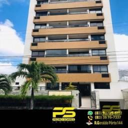 (oferta) apartamento com 2 quartos sendo 1 suíte em tambaú