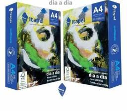 Papel A4 - 500 folhas - Cx com 10 uni