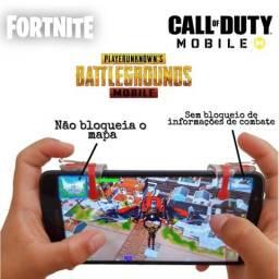 Gatilhos L1 + R1 para celulares. Fortnite, Pubg, Free Fire e Call of Duty e etc