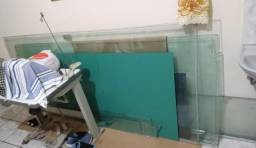 Módulos + porta para vitrine vidro