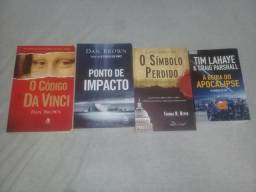 Livros usados em promocao