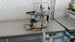Maquina de costura overlock com zero max