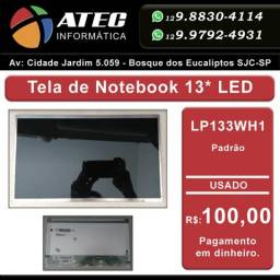 Tela de notebook 13 LED
