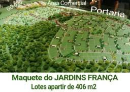 Jardins Franca na Go-020- serie especial 25 anos- Área comercial na GO-020 100% vendida