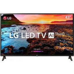 Tv Lg 43 Smart Led Full HD Nova com Nota Fiscal
