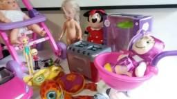 Lote de brinquedos menina variados