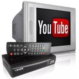 Conversor Digital com Gravador e Youtube ( Entrego) aparti de 79,90
