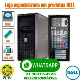 Lote C/10 Computador Dell Optiplex Intel Core 4gb Hd 500gb Wifi - Garantia - Entregamos