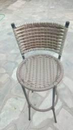 Duas cadeiras de cozinha americana