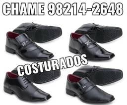 Sapatos sociais costurados( oferta imperdível)