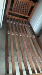 Cama solteiro madeira maciça