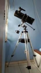 Telescópio Newtoniano Greika TELE-1000114 com Tripé, novinho