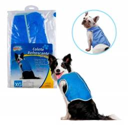 Colete Refrescante Para Cachorro M