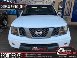 NISSAN FRONTIER 2.5 XE 4X2 CD TURBO ELETRONIC DIESEL 4P MANUAL