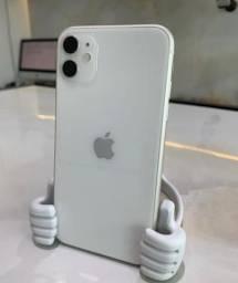 IPhone 11 64GB Branco, garantia 1 ano Apple