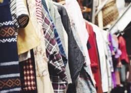 Lote de roupas femininas - 116 peças (Brechó)