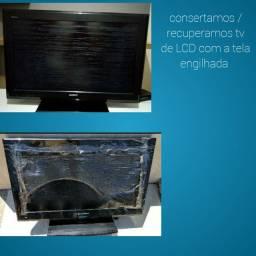 TV  COM TELHA ENGILHADA
