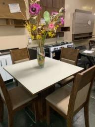 Mesa napoly de 4 cadeira