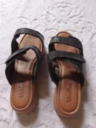 Sandália com pouco uso