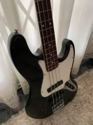 Baixo Fender Jazz Bass Top ponte Badass Bass lll e tarrachas licensed by Schaller