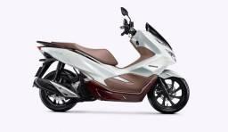 Pcx Dlx Abs modelo 2021 zero km Branca R$17.290,00