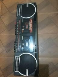 Radio gravador philips decada de 90 AR490
