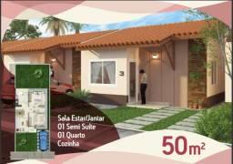 Condomínio fechado no Maiobão-Paranã - 2 quartos