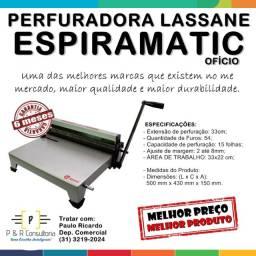 Perfuradora para Espiral / Encadernadora Lassane Espiramatic