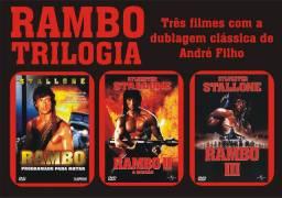 Trilogia Rambo - Dublagens Clássicas de André Filho