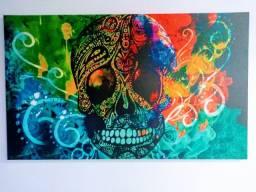 Vende se quadro decorativo  Caveira Mexicana