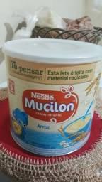 Lata de mucilon e milnutri para artesanato