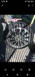 Rodas scorro 17 com 2 jogos de pneus