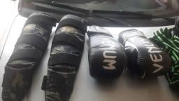 Equipamentos para treino Muay tay semi novo