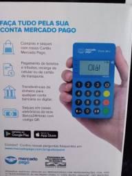 Título do anúncio: Troco máquina de cartão do mercado pago