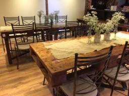 Título do anúncio: Lote de mesas rústica