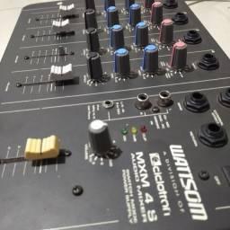 Título do anúncio: Mesa de som Wattsom MXM4S 4 Canais