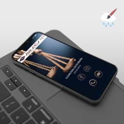 Título do anúncio:  Cartão de visita interativo digital Design gráfico
