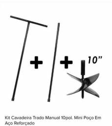 Trado manual 10pol