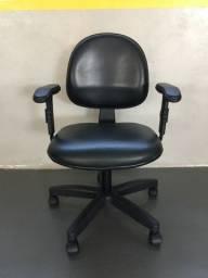 Cadeira Secretária Executiva Escritório Giratória Home Office