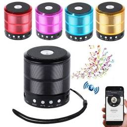 Título do anúncio: Mini speaker caixa de som Bluetooth portátil WS-887