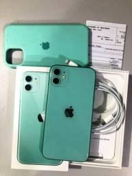 Título do anúncio: Iphone 11 64gb Verde/ aceito troca no 7 ou superior+ volta.