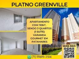 Título do anúncio: Platno Greenville, 3 quartos em 110m² com 2 vagas de garagem em Armação - Imperdível