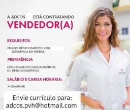 Título do anúncio: Dermoconsultor(a)