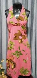 Título do anúncio: Vestido em Malha Estampado - Tam. M