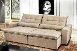 Título do anúncio: Sofá Retrátil e Reclinável Rubi 2,4M
