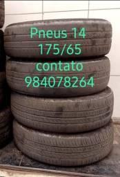 Título do anúncio: Pneus 14 175/70