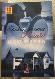 Livro Diário de uma Paixão - Nicholas Sparks