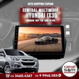 Título do anúncio: Central Multimídia Android Hyundai Ix35 Wifi 1gb 16gb 10 Pol Instalada na Canal Som