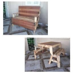 Título do anúncio: Banco/Mesa em madeira