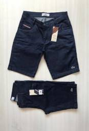 Bermuda masculina jeans da Tommy